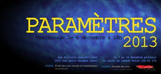 Exposition: «PARAMÈTRES» des étudiants de l'École des arts visuels et médiatiques