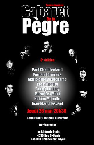 Cabaret de la Pègre (3e édition)