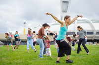 Come dance with the entire family on the Esplanade