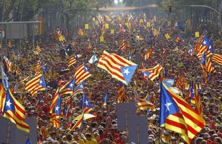 L'évolution des appuis à l'indépendance en Catalogne