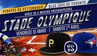 Blue Jays de Toronto contre Pirates de Pittsburgh