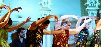 Spectacle : FLAMENCO DE LUCES, LOS JARDINES PERDIDOS, avec Centre de danse flamenco Julia Cristina