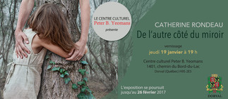 Catherine Rondeau @ Centre culturel Peter B. Yeomans