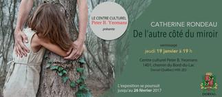 Catherine Rondeau @ Centre culturel Peter B. Yeomans