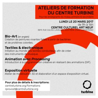 FORMATION : Technologies et pratiques actuelles en art et pédagogie