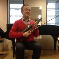 Cours de maître en violon avec Christophe Poiget