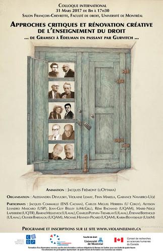 Approches critiques et rénovation créative de l'enseignement du droit: de Gramsci à Edelman en passant par Gurvitch