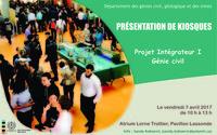 Présentation de kiosques - Génie civil - Projet intégrateur I
