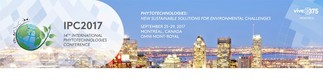 14 ème édition de la Conférence internationale sur les phytotechonologies