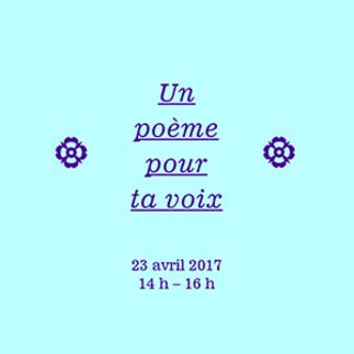 Un poème pour ta voix | Capsules vidéos et chœur poétique