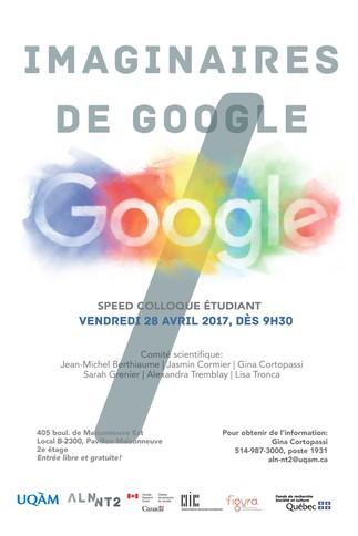 Speed colloque: «Imaginaires de Google»