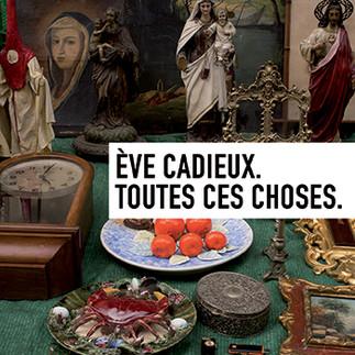 Exposition -  Ève Cadieux. «Toutes ces choses»
