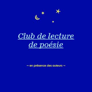 Club de poésie avec Carole David