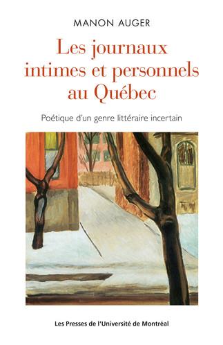 Causerie / Lancement: Les journaux intimes au Québec