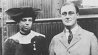 Franklin et Eleanor Roosevelt