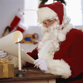 Une lettre au Père-Noël