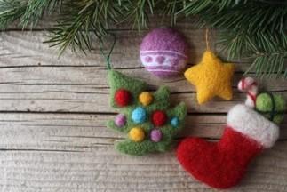 Atelier de feutrage : Décorations de Noël, avec Nelly (places limitées, inscription obligatoire)