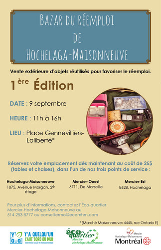 Bazar du réemploi de Hochelaga-Maisonneuve