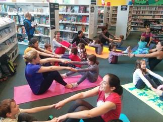 Activité de yoga-conte pour les petits