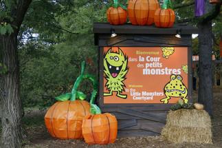 Cour des petits monstres
