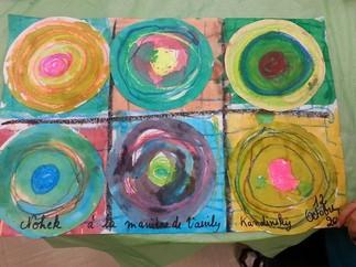 À la manière de... Kandinsky - Peinture