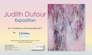 Judith Dufour expose au Cinéma Beaubien
