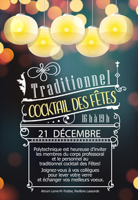 Traditionnel cocktail des Fêtes