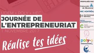 Journée de l'entrepreneuriat - Réalise tes idées