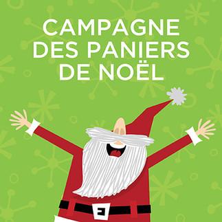 Donnez génégeusement à la Campagne des paniers de Noël