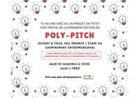 Poly-Pitch : présentation d'idées d'affaires