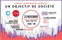 Stimuler l'entrepreneuriat québécois : un objectif de société