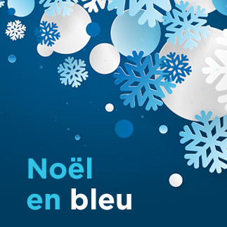 Venez célébrer Noël en bleu!