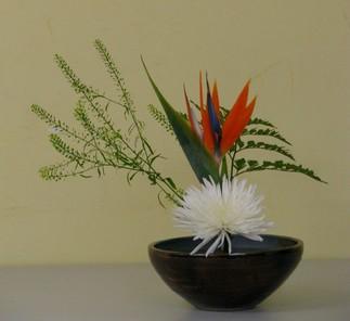 Introduction à l'art floral japonais