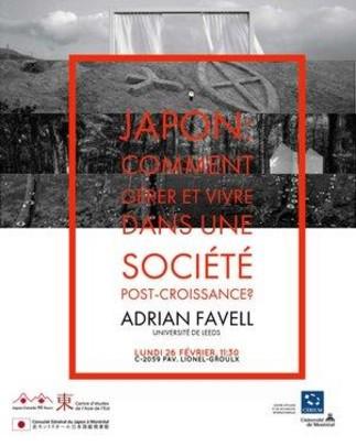 Japon : comment gérer et vivre dans une société post-croissance?