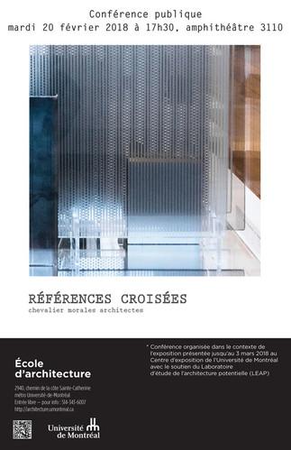 Références croisées : Chevalier Morales architectes