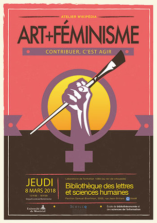 Atelier -  Wikipédia Art+Féminisme