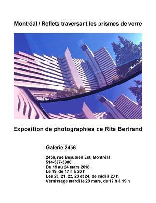 Montréal / Reflets traversant les prismes de verre