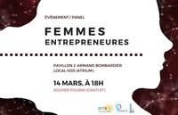 Panel de femmes entrepreneures