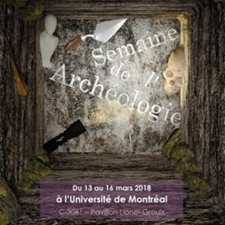 Semaine de l'Archéologie à l'UdeM