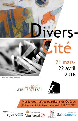Exposition 'Divers-Cité'@Musée des maîtres et artisans du Québec