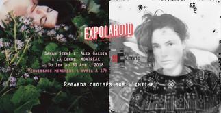 Exposition: Regards croisés sur l'intime, Sarah Seené & Alix Galdin