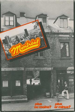 Créer à rebours vers l'exposition : le cas de Montréal, plus ou moins ?