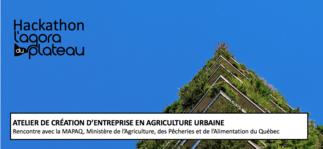 Atelier de création d'entreprise en agriculture urbaine