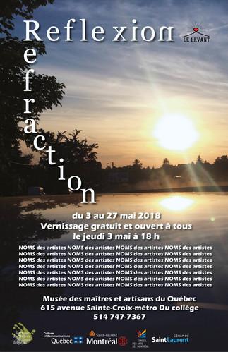 Exposition 'Réflexion/réfraction' au Musée des maîtres et artisans du Québc