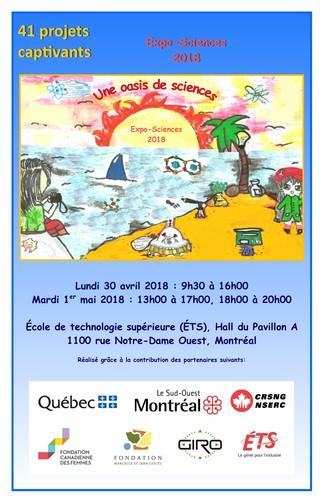 Expo-Sciences 2018 Les Scientifines