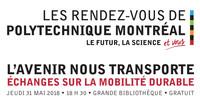 **COMPLET** Les Rendez-vous de Polytechnique : L'avenir nous transporte