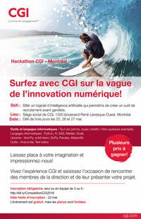 Compétition  Hackathon CGI – Montréal