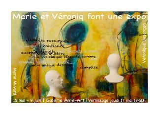 Marie et Véroniq font une expo