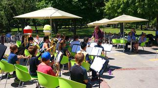 Concert des élèves de l'école Le Plateau