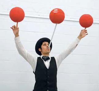 Spectacle de cirque: Mr. Verdin à l'abordage - Fête de clôture du club de lecture